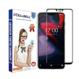 #7: CELLBELL® OnePlus 6 (Full Glue)(Edge to Edge)(Black) Tempered Glass Screen Protector with Free Installation Kit