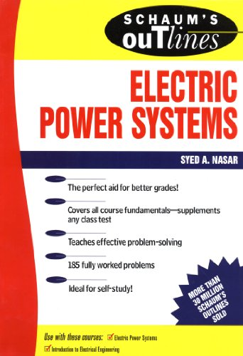 Schaum's Outline of Electrical Power Systems (Schaum's Outlines) (English Edition) - Schaum-anlagen