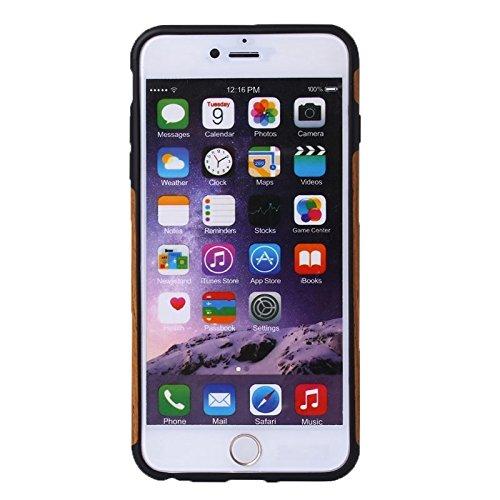 Phone case & Hülle Für iPhone 6 / 6s, Walnuss Holz Paste Haut PU Schutzhülle ( SKU : S-IP6G-0863C ) S-IP6G-0863C