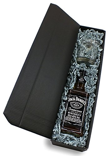 "\""meinglas24\"" Geschenkkarton \""Weihnachten\"" mit Jack Daniels Whisky 40{361583222c853546f2eaa03cbee809fb94dd13be9cf6cf6fbc1d93b791feb824} 0,35l + 1 Tumbler Glas"