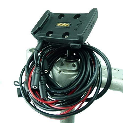 Hardwire Funzionamento Dock Supporto 12mm Asse Bici Supporto per Bici per Garmin Zumo 590 595