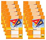 10 Schulblöcke /Schreibblöcke kariert DIN A4 / 50 Blatt je Block (10er Sparpack)