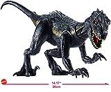 Mattel Jurassic World Villain Dino Base Dinosauro Protagonista del Film, 16.5 cm, FVW27