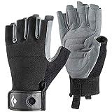 Black Diamond Erwachsene Handschuhe Crag Half Finger Gloves, Black, M