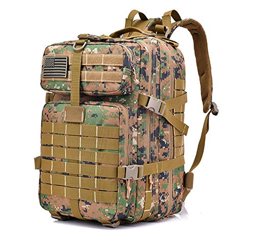 568c4e4e441316 36L -55 L Military Tactical Army Backpack 3-Day Army Military Survival  Outdoor Hiking