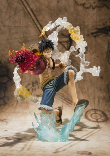 "Bandai Tamashii Nations Monkey. D. Luffy ""One-Piece"" FiguartsZERO Figure (Battle Version) (japan import) 2"