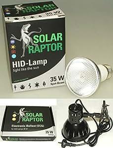 Solar Raptor 35 Watt Spot Set inkl. EVG + Clamp Lamp
