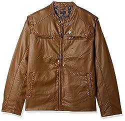 Arrow Mens Jacket (8907538758088_ASUJK4722_Medium_Me. Brown)