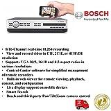 Bosch NEU 16Kanal DVR 600Serie 4TB HDD W/DVD H.2642x VGA–Mobil Viewing