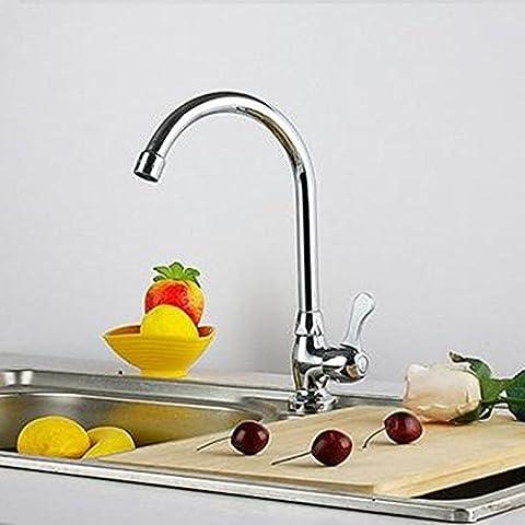 Cucina fredda singolo rame verticale Toccare rubinetto lavabo rubinetto lavabo