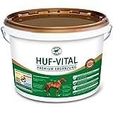 Atcom Huf-Vital 10kg - Mineralfutter zur Verbesserung der Hufqualität und des Hornwachstums bei Hufproblemen für Pferde