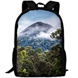 best& Nature Landscape Mountains Photography Clouds School Rucksack College Bookbag Unisex Travel Backpack Laptop Bag