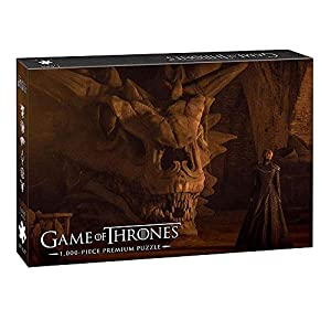USAopoly Game of Thrones Premium Puzzle Balerion The Black Dread Puzzles 11