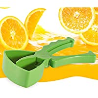 Juicer Manual Fruit Lemon Batidora Personal Mini Baby Plastic Press Cocina (Verde)