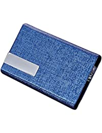 LQZ Cheque Business Name Card Bank Credit Card Bag Holder Cases For Men Women