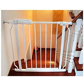 YONGYONG-Guardrail Pet Chien Clôture Enfants Intérieur De Sécurité Isolation Rampe Clôture Chien Porte Bar Escaliers Bouche Teddy Chien Clôture 64-265cm (Couleur : B, Taille : 64~69.9cm)