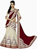 Jini Fashion Women's Net Lehenga Choli (...
