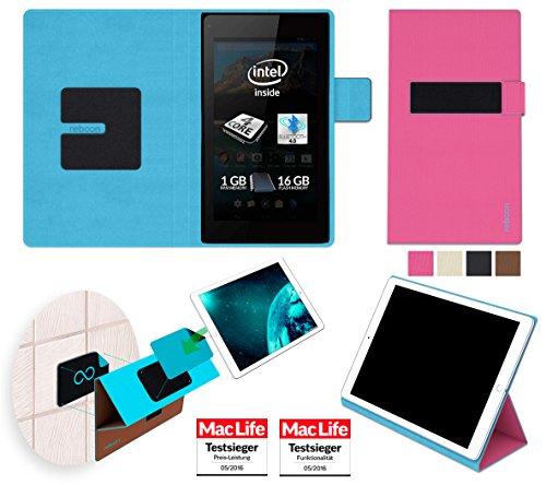 reboon Hülle für Allview WI7 Android Tasche Cover Case Bumper | in Pink | Testsieger