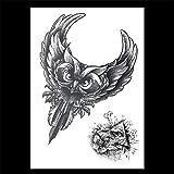 zgmtj Adesivo Tatuaggio Animale Tigre HB-826 148×210MM