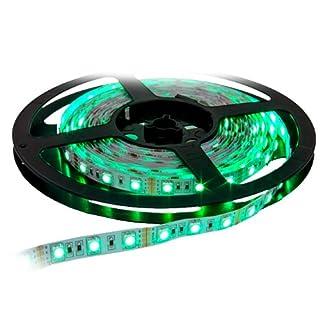 5 METER LED RGB FLEXBAND LED STRIPES SELBSTKLEBEND 30LEDs / M - EINKÜRZBAR