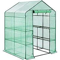 D4P Display4top Invernadero de jardín vivero casero Plantas Cultivos 143 x 143 x ...