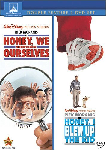 Honey We Shrunk Ourselves / Honey I Blew Up The Kid 2-Movie Collection by Rick Moranis