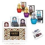 Eau de Parfum RUSSIAN PRESENT para mujeres y niñas, 35 ml - by SERGIO NERO (GIFT SET)