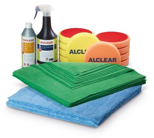 ALCLEAR 8201100 Polier und Lackpflegeset, 27-Teilig