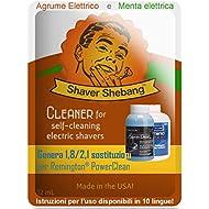12 recargas para cartuchos Philips Norelco SmartClean - Cítrico y Menta - 4 soluciones limpiadoras Shaver Shebang - sustitutos de SmartClean