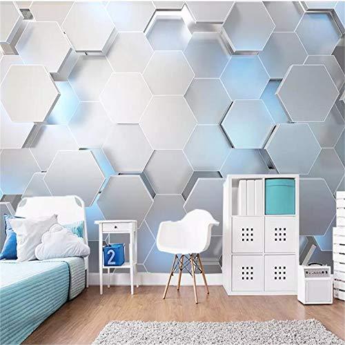 Steaean 3D Papier Einfache Feste Geometrie Industrietechnik Ktv Bar Hintergrundbild Haus Dekoration Kann Angepasst Werden, 300 * 210 cm