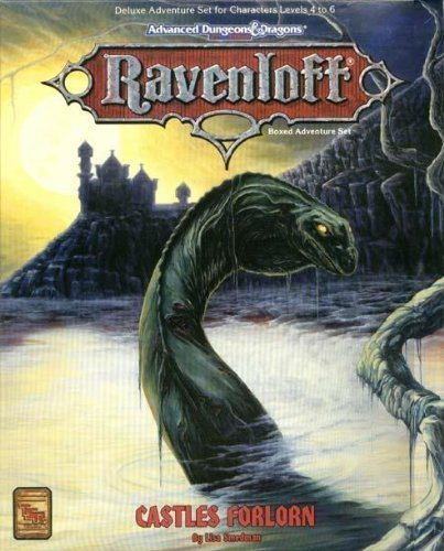 Castles Forlorn (AD&D 2nd Ed Fantasy Roleplaying, Ravenloft Setting) by Lisa Smedman (1993-10-01)