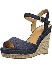 Womens A1385lice 1a1 Wedge Heels Sandals Tommy Hilfiger