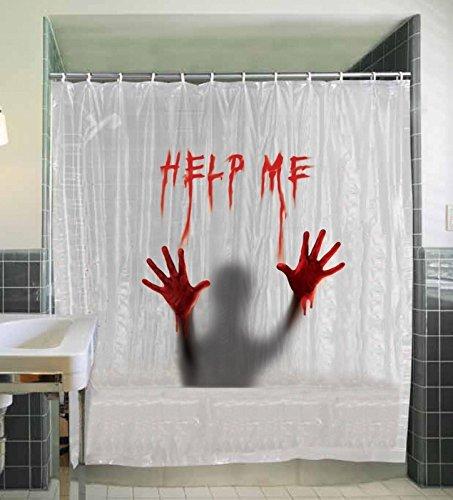 Mir helfen Vorhang für die Dusche