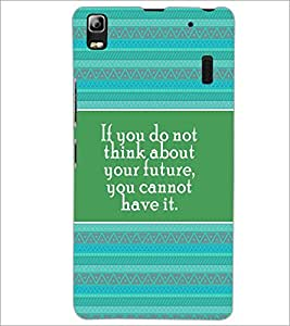 PrintDhaba Quote D-4171 Back Case Cover for LENOVO A7000 TURBO (Multi-Coloured)