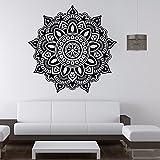 Mandala Blume Indische Schlafzimmer Wandaufkleber Tür Aufkleber Kunst Aufkleber Wanddekoration Poster Home Wandaufkleber A10 57 * 57 CM