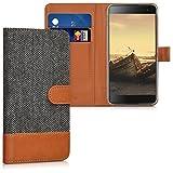 kwmobile Hülle für Blackberry DTEK60 - Wallet Case Handy