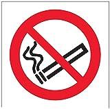 """vsafety 57017ae-r """"No Smoking Logo Prohibition Panneau,, occasion d'occasion  Livré partout en Belgique"""