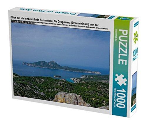 Preisvergleich Produktbild Blick auf die unbewohnte Felseninsel Sa Dragonera (Dracheninsel) vor der Westküste Mallorcas. 1000 Teile Puzzle quer (CALVENDO Orte)