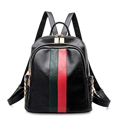 XWH Damenrucksack, Mode-Niet-Umhängetasche, College-Rucksack mit großem Fassungsvermögen, Reiserucksack/A/cm -