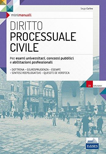 Diritto processuale civile. Per esami universitari, concorsi pubblici e abilitazioni professionali. Con Contenuto digitale per download e accesso on line