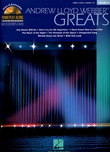 Andrew Lloyd Webber Greats: Piano Play-Along Volume 27