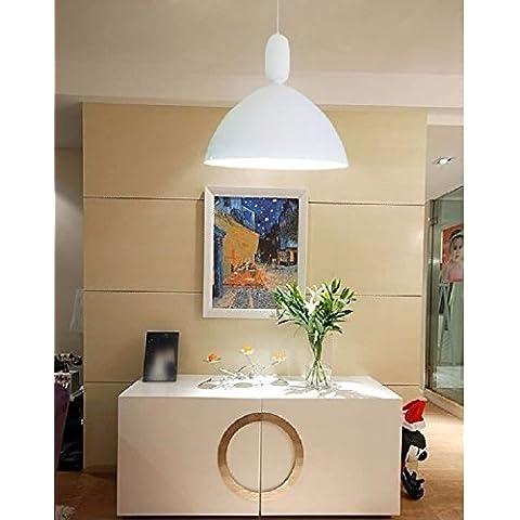 FULL Lampada a sospensione di semplice ristorante Galleria Salone moderno studio zucca,Bianco