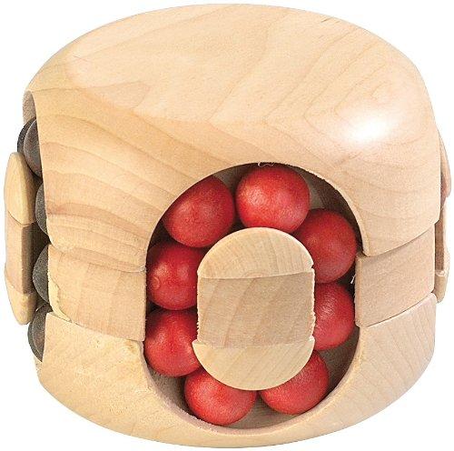 Playtastic Geduldsspiel: Geduldspiel aus Holz - Magic Beads (Holzspiele)