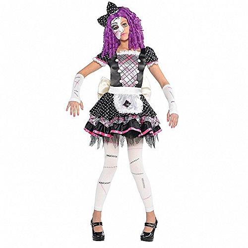 Zerbrochene Puppe (Kostüme Scary Doll Für Kinder)