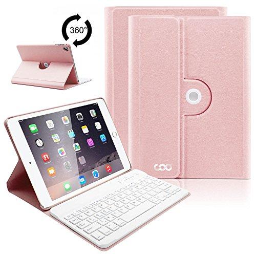 COO Funda Teclado Español iPad Air 2 Bluetooth, 9,7