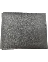 Ckl Front Pocket Wallet Minimalist Portable Top Genuine Leather Texture Wallet Hold Cash And Cards (Black) By...