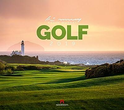 Golf 2019 Wandkalender Golfplätzen