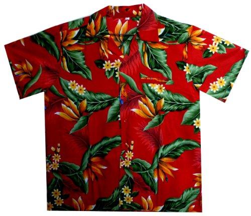 Funky-Camisa-Hawaiana-Streli-red-S