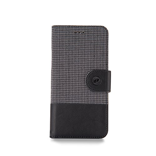 Melkco PU Case Western Series für Apple iPhone 6 14 cm (5,5 Zoll) Diary Style grau umi (Western-leder-handy-fälle)