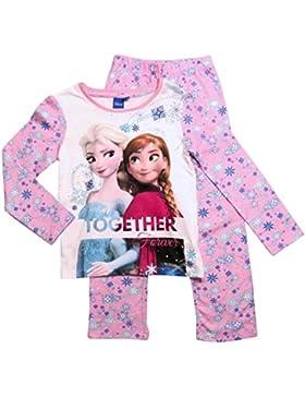 Frozen Pyjama Ökotex Standard 100 Die Eiskönigin 2017 Kollektion 98 104 110 116 122 128 Völlig Unverfroren Schlafanzug...